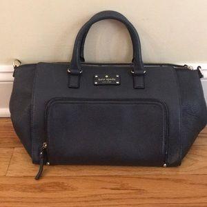 Large Black Kate Spade Bag